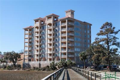 Savannah Condo/Townhouse For Sale: 8001 Old Tybee Road E #501