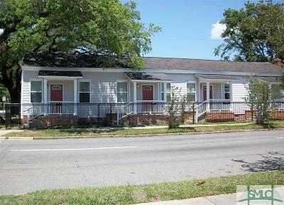 Savannah Single Family Home For Sale: 702 E Anderson Street #A-D