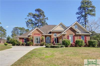 Savannah Single Family Home For Sale: 106 Greenview Drive