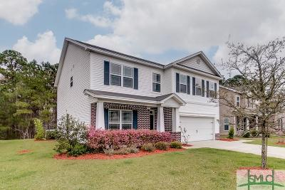 Pooler Single Family Home For Sale: 134 Magnolia Drive