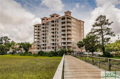Savannah Condo/Townhouse For Sale: 8001 Old Tybee Road #602