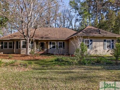 Savannah Single Family Home For Sale: 115 Lyman Hall