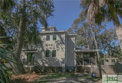 Tybee Island Single Family Home For Sale: 117 Cedarwood Drive
