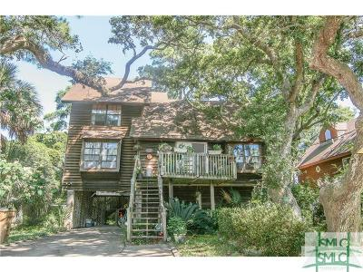 Tybee Island Single Family Home For Sale: 20 N Campbell