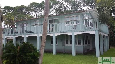 Tybee Island Single Family Home For Sale: 604 Butler