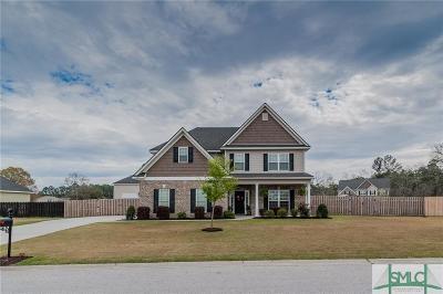 Rincon Single Family Home Active Contingent: 117 Oak Lawn Drive