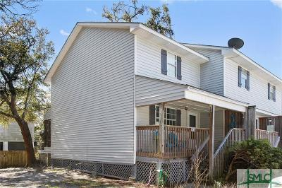 Tybee Island Condo/Townhouse For Sale: 817 1st Street #F4