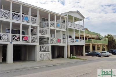 Tybee Island Condo/Townhouse For Sale: 3 17th Street #4