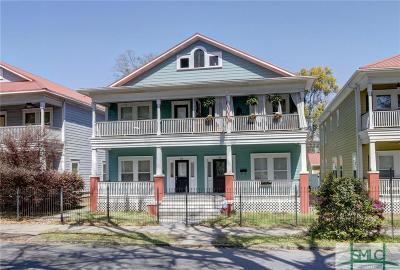 Savannah Condo/Townhouse For Sale: 514 W 37th Street