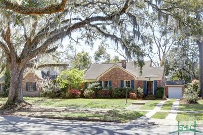 Savannah Single Family Home For Sale: 1823 E Henry Street