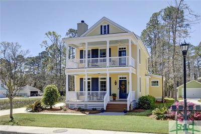 Savannah Single Family Home For Sale: 5 Breezy Palm Way
