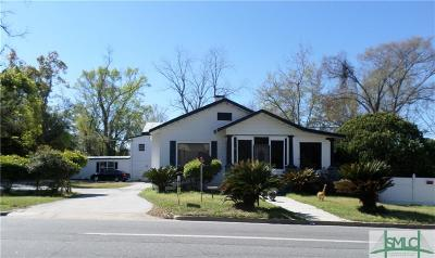 Savannah Single Family Home For Sale: 1611 E Henry Street