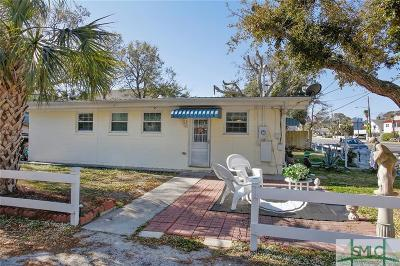 Tybee Island GA Single Family Home For Sale: $495,000