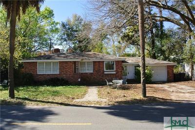 Savannah Single Family Home For Sale: 1407 Washington Avenue