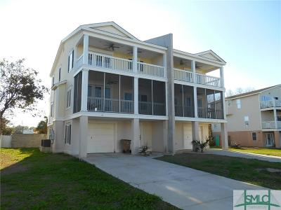 Tybee Island Condo/Townhouse For Sale: 40 Captains View