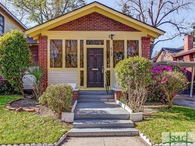 Savannah Single Family Home For Sale: 615 Seiler Avenue