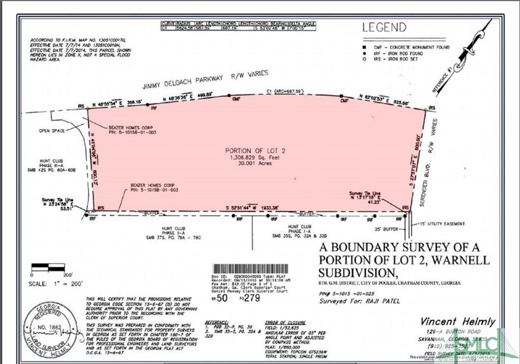 00 Jimmy Deloach, Pooler, GA, 31322, Pooler Home For Sale
