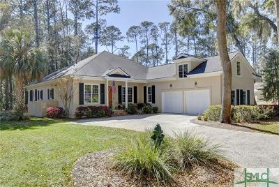 Savannah Single Family Home For Sale: 13 Topsail Court