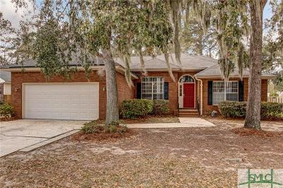 Savannah Single Family Home For Sale: 5 Sea Palm Circle