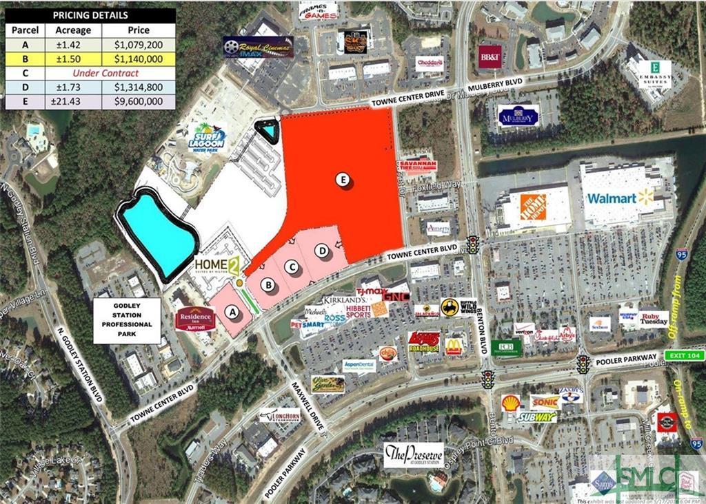 00 Towne Center, Pooler, GA, 31322, Pooler Home For Sale
