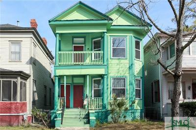 Savannah Multi Family Home For Sale: 614 W 39th Street #A & B