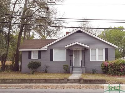 Savannah Single Family Home For Sale: 1925 E Gwinnett Street