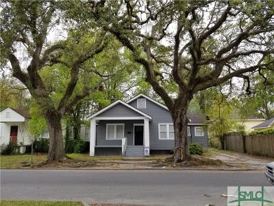 Savannah Single Family Home For Sale: 1321 E 39th Street