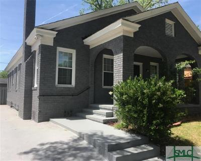 Savannah Single Family Home For Sale: 1115 E 39th Street