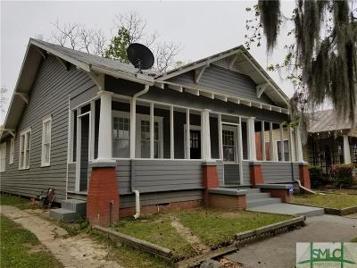 Savannah Single Family Home For Sale: 1107 E 41st Street