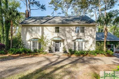 Savannah Single Family Home For Sale: 224 Bradley Point Road