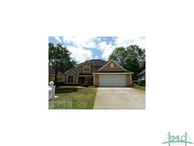 Savannah GA Single Family Home For Sale: $215,000