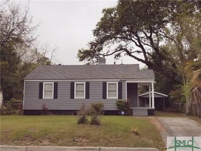 Savannah GA Single Family Home For Sale: $135,000