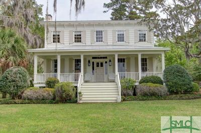 Savannah GA Single Family Home For Sale: $1,949,000