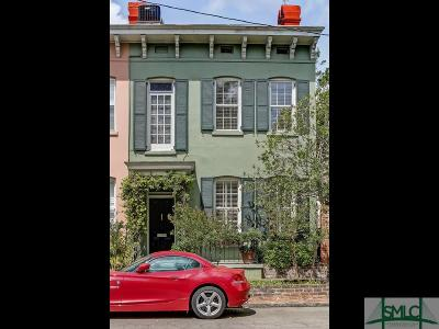 Savannah Condo/Townhouse For Sale: 605 Habersham Street