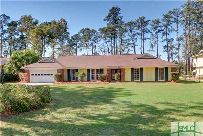 Savannah Single Family Home For Sale: 7006 Sandnettles Drive