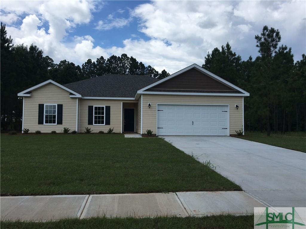 18 Saddlebrush, Ellabell, GA, 31308, Ellabell Home For Sale