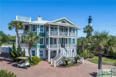 Tybee Island GA Single Family Home For Sale: $1,689,000