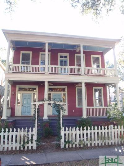 Savannah Multi Family Home For Sale: 1726-1728 Barnard Street