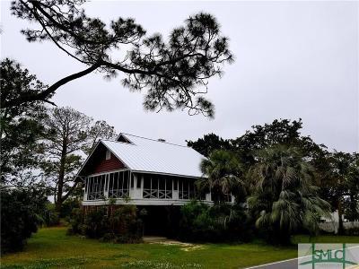 Tybee Island Single Family Home For Sale: 1103 Jones (3rd Avenue) Avenue