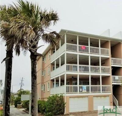 Tybee Island Condo/Townhouse For Sale: 1707 Strand Avenue #3