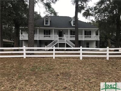 Savannah Single Family Home For Sale: 1628 Walthour Road #A