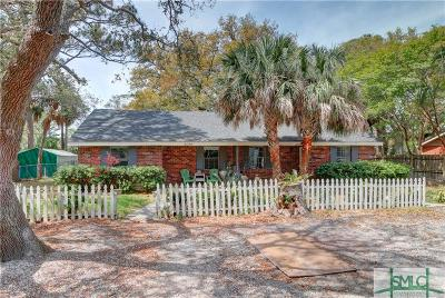 Tybee Island GA Single Family Home For Sale: $385,000