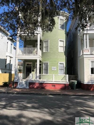 Savannah Condo/Townhouse For Sale: 814 Drayton Street