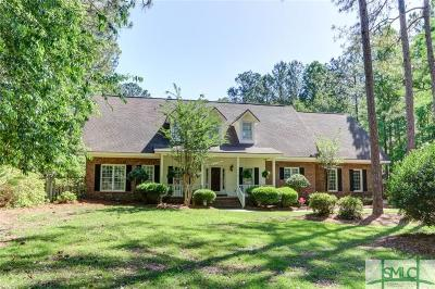 Rincon Single Family Home For Sale: 408 Lake Tomacheechee Drive