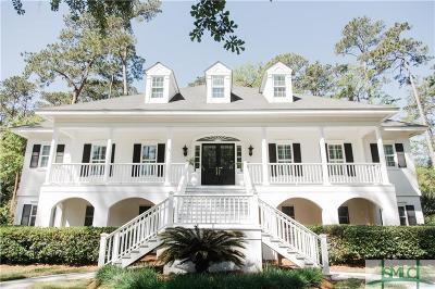 Savannah Single Family Home For Sale: 1 Bailey Reach