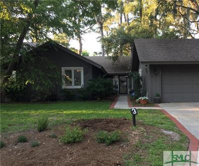 Savannah Single Family Home For Sale: 3 Henry Clay Court #3