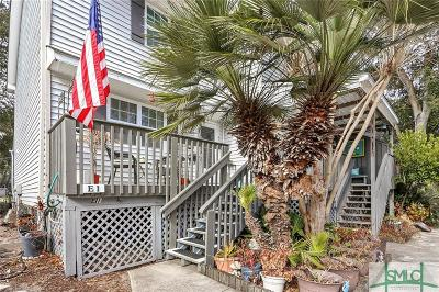Tybee Island Condo/Townhouse For Sale: 817 1st Street #E1