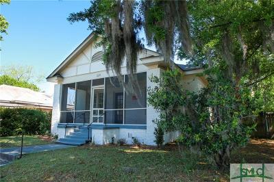 Savannah Single Family Home For Sale: 224 E 51st Street
