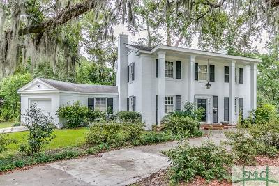 Savannah Single Family Home For Sale: 1302 Bacon Park Drive