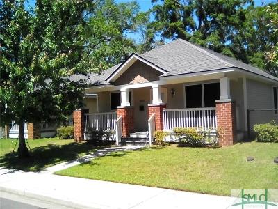 Savannah GA Single Family Home For Sale: $160,000